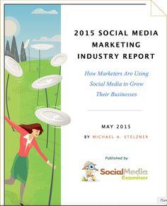 Veja agora os principais resultados do relatório da Indústria de #MarketingSocial 2015