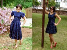 How to turn a Goodwill find into an adorable, chic dress! SO COOL and SO easy!!!