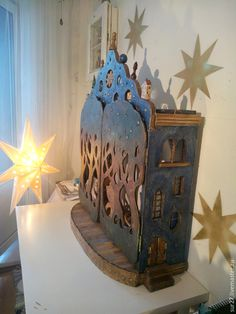 I think this is a doll house? Shadow Theatre, Toy Theatre, Inspiration Artistique, Paper Art, Paper Crafts, Shadow Puppets, Creative Play, Box Art, Paper Dolls