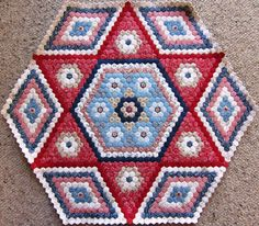 Hexagon Quilt 6.4.2012