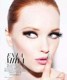 Harper's Bazaar Mexico June 2012 Beauty Editorial - Sasha Martynyuk