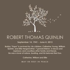 Memorial Invitations | Memorial Announcements & Invites - CafePress
