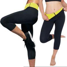 Mujeres Pantalones De Adelgazamiento caliente de neopreno Cuerpo Shaper  Quemador De Grasa Deporte Yoga Sauna rf 67d602954ed6