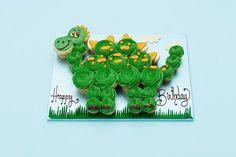 dinosaur pull apart cake