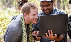 Prince Harry shows off his wild side at national park in Nepalhello!