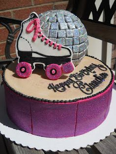 Disco Rock N' Roller Cake by Crazy Creative Shelby