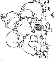 Coloring pages precious moments 73