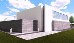 Sport hall concept project