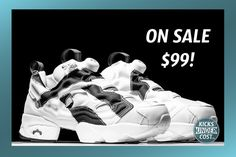 """Retail $160, the """"Overbranded"""" Reebok InstaPump Fury is on sale for $99!"""