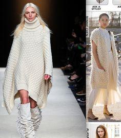 big white sweaters. i'm in love.