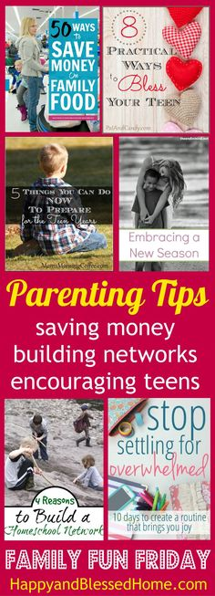 Wow - great parenting tips here. Love #4 from ways to prepare for the teen years. It's a link up party for bloggers with loads of great features. Great ideas to help moms.