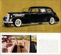 Packard 1940 Custom Super-8 One-Eighty All-Weather Town Car
