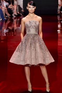 Elie Saab's 2013 evening wear collection is timeless, exquisite