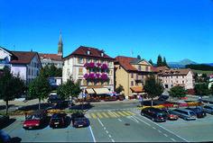 Place d'Armes à Châtel-St-Denis St Denis, Austria, Switzerland, Tourism, Street View, Europe, Italy, France, Country