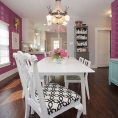 Paint Dining Room Table Design, Pictures, Remodel, Decor and Ideas