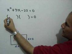 Problema con Ecuacion Cuadratica: Julio Rios explica el planteamiento y solución de un problema que involucra una ecuación cuadrática o de segundo grado