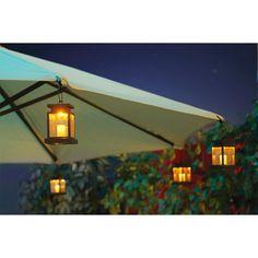 Decoration, Patio Umbrella Lights: How To Decorate Your Patio With Patio Umbrella Lights