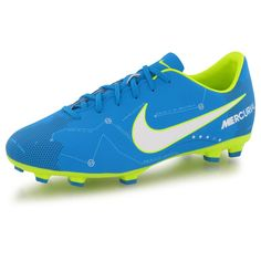 5819ad7ad1060 Chaussures Nike Mercurial Victory Vi Njr Fg Bleu Enfant - Taille   38
