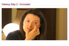 Apply concealer to highlight around the eyes, cover blemishes and other imperfections and even out the skin tone.