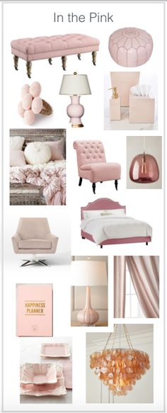 The ottoman at the top and the chair in the middle are incredible deals (ottoman. - Home Decor Girls Bedroom, Bedroom Ideas, Bedroom Designs, Master Bedroom, Deco Studio, Decoration Chic, Pink Room, Home And Deco, My New Room