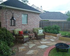 Gravel Patio Design, Pictures, Remodel, Decor and Ideas - page 5