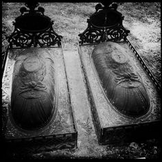 cast iron grave markers