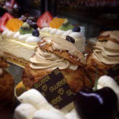 Mocha Choux a la creme #pastry #sweet #coffee
