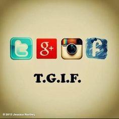 Go on. Tweet it, GooglePlus it, Insta it, Post it on Facebook. It's Friday! Social Media Humor, Social Media Tips, Social Networks, Social Media Marketing, Internet Marketing, Google Plus, Tech Humor, Technology Humor, Office Humor