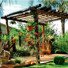 Backyard Pergola DIY Videos - Pergola Bioclimatique Pas Cher - Pergola Videos Patio With Fire Pit Diy Pergola, Rustic Pergola, Retractable Pergola, Small Pergola, Pergola Attached To House, Pergola Swing, Metal Pergola, Outdoor Pergola, Cheap Pergola