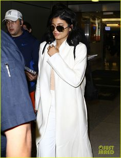 Kylie Jenner Arrives To Miami For Art Basel: Photo #901623. Kylie Jenner keeps to herself while arriving at Miami International Airport on Friday afternoon (December 4) in Miami, Fla.    The 18-year-old reality star was joined…