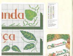 Sandrinha Ponto Cruz: Semaninha Legumes