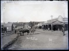 Main St,Portland in New South Wales in 1890-1915.