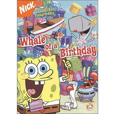 SpongeBob SquarePants: Whale Of A Birthday (Full Frame)
