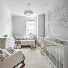 30 Ideas for Creating Your Twin Nursery | Two Came True Twin Baby Rooms, Baby Room Boy, Baby Bedroom, Twin Babies, Kids Bedroom, Twin Girls, Twin Nurseries, Twin Room, Neutral Nurseries