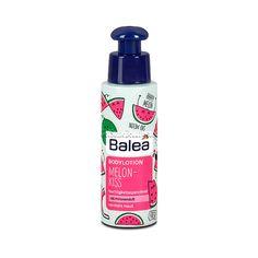 Balea Body Lotion Melon-Kiss 75 ml (Balea Bodylotion Melon-Kiss) With a fruity-scented Balea body lotion you get in a holiday mood! The rich lotion provides the Dm Balea, Glycerin, Holiday Mood, Hacks, Spray Bottle, Body Lotion, Beauty Skin, Make Up, Personal Care