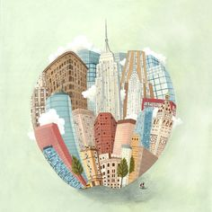 The Big Apple and I  Illustration by Arianna Usai