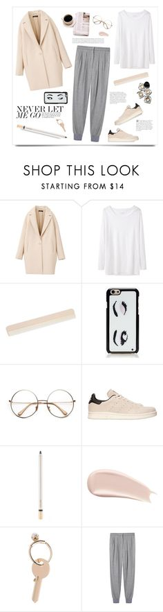 """""""Casual and comfy."""" by yexyka ❤ liked on Polyvore featuring Étoile Isabel Marant, Kate Spade, Bobbi Brown Cosmetics, adidas Originals, Jouer, By Terry and Maison Margiela"""