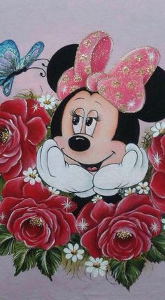 Disney Minnie mouse I want this as a tattoo Mickey Mouse Wallpaper, Mickey Mouse Cartoon, Mickey Minnie Mouse, Disney Wallpaper, Disney Mickey, Disney Art, Walt Disney, Minnie Mouse Pictures, Disney Pictures