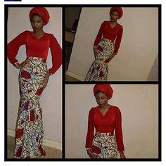 Mina fish Tail Skirt. #ItsAllAboutAfricanFashion #AfricanPrints #kente #ankara #AfricanStyle #AfricanFashion #AfricanInspired #StyleAfrica #AfricanBeauty #AfricaInFashion