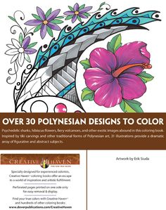 Welcome to Dover Publications Polynesian Designs