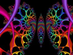 May Your Day Be Filled With Smiles and Flutterbys by Bunny Clarke Wallpaper Iphone Love, Rainbow Wallpaper, Butterfly Background, Fractal Patterns, Rainbow Connection, Artwork Pictures, Spirals, Psychedelic Art, Fractions