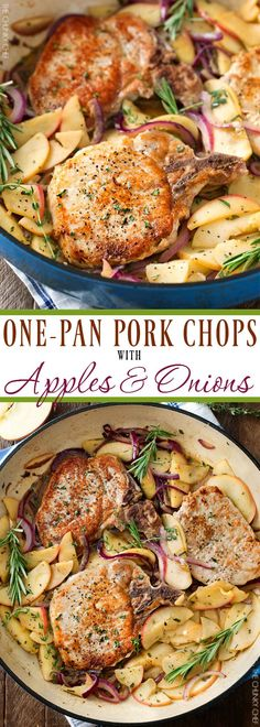 One Pan Pork Chops w