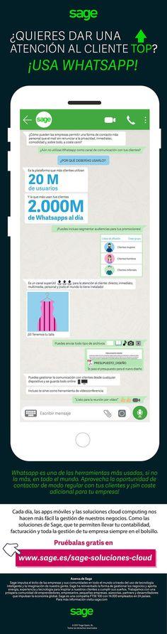 WhatsApp en atención al cliente