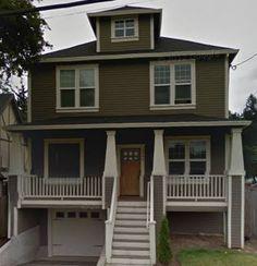 Craftsmen style homes in Portland Oregon