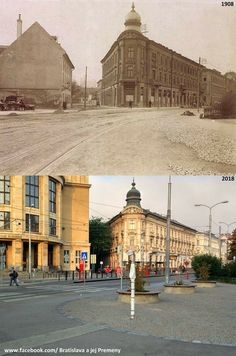 Šafárikovo námestie 1908 Bratislava Slovakia, Nostalgia, Times, Retro, Building, Sweet, Places, Photography, Travel