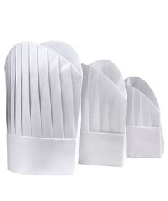 Disposable Chef Hat - $2.45