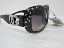 WOMEN'S OVERSIZED DG EYEWEAR SUNGLASSES W /RHINESTONES BLACK FRAMES http://r.ebay.com/kfVFG1 for auction #Sunglasses #Fashion 99 cent  start bid