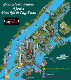 Itinéraire New York City Pass
