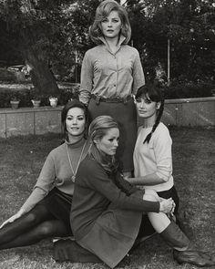 : Claudine Auger, Ursula Andress, Marisa Mell & Virna Lisi
