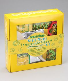 Take a look at this Sassafras Lemonade Stand Kit by Little Entrepreneurs Collection on #zulily today!